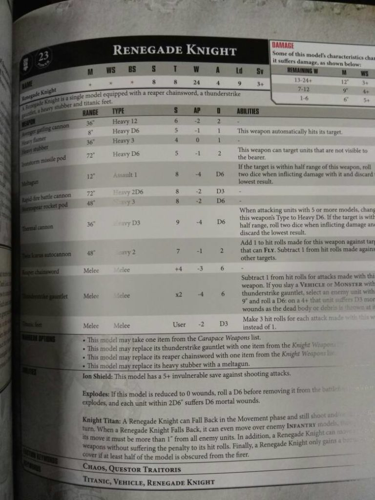 Chaos Space Marines And Chaos Daemons 8th Edition Leaks